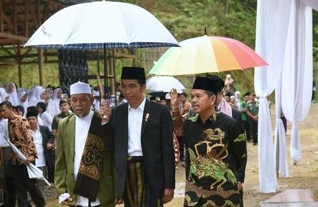 Kang Dedi Akui Pengetahuannya Tentang Jabar Diuji Presiden Jokowi