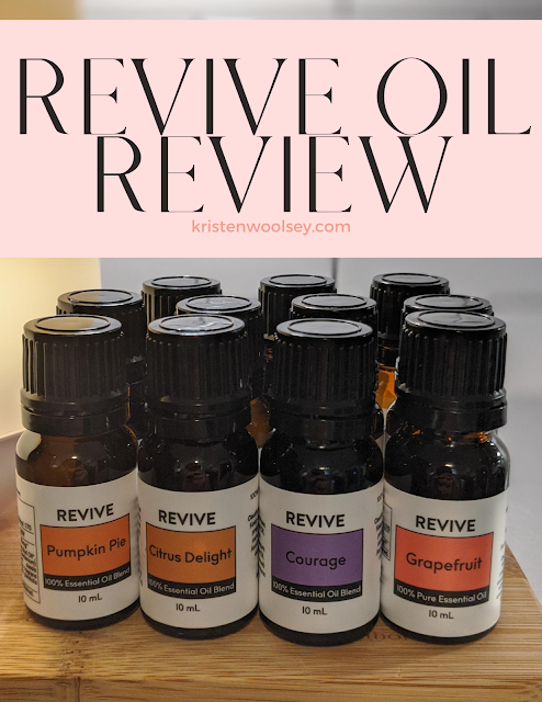 Revive Essential Oil Review (Unsponsored) | www.kristenwoolsey.com