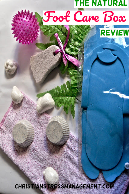 Natural Foot Care Gift Box Review