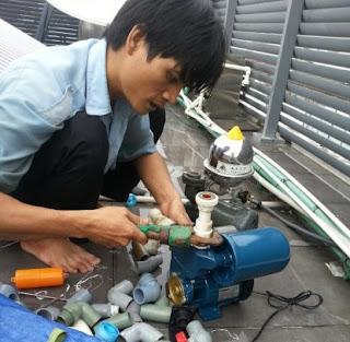 Sửa máy bơm nước hút chân không tại Hà Nội