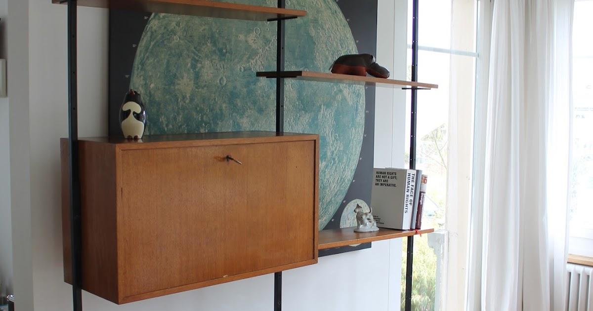 Sold teleskop regal patinamöbel