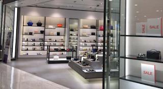 retail shop and showroom interior design or decor