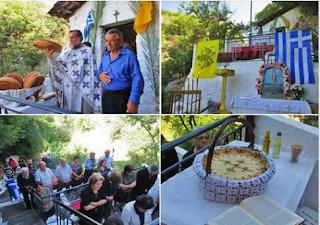 Νέα Φιγαλεία: Αρκετός κόσμος και φέτος στη Θεία Λειτουργία στο Σπήλαιο του Αγίου Ονουφρίου (ΦΩΤΟ)