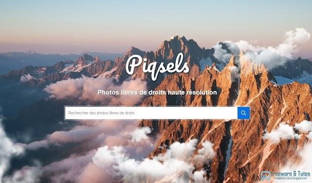 Piqsels : une banque d'images libres de droits en haute résolution