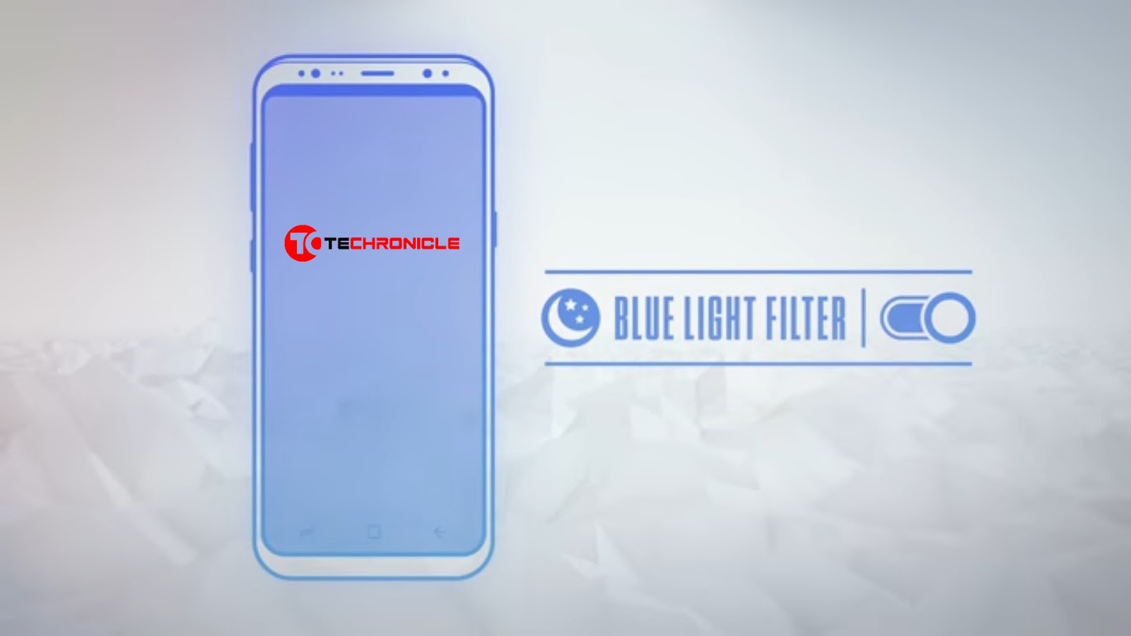 Smartphone Bluelight Filter Vector Image Techronicle