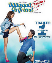 Dilliwaali-zaalim-girlfriend 2015 Watch full hindi movie