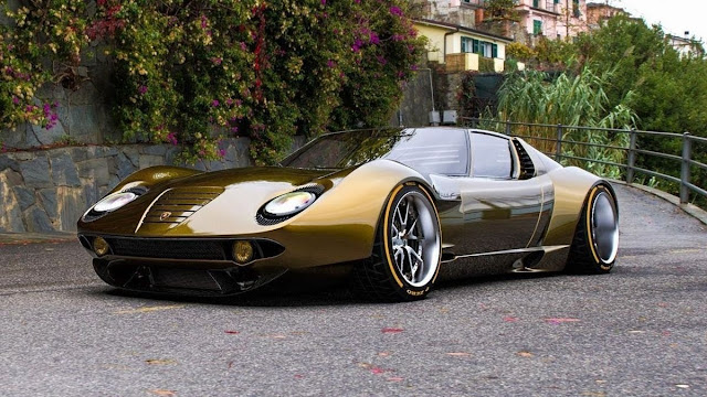 Miura Lamborghini concept