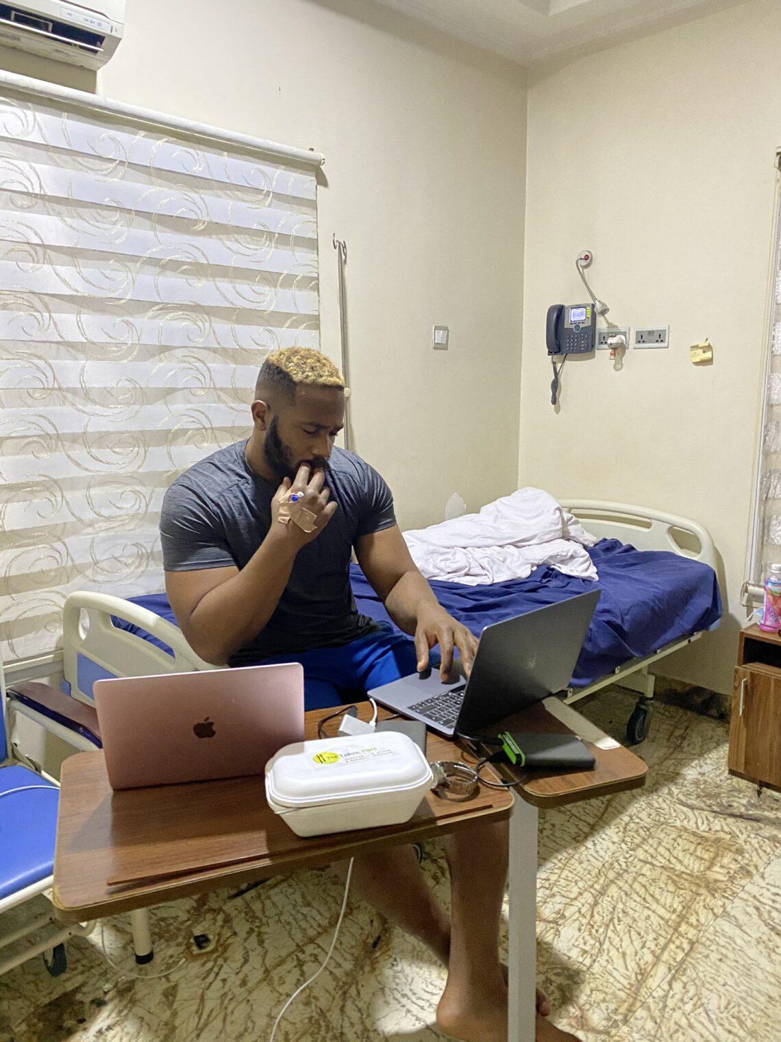 BBnaija's Kiddwaya Hospitalized (Photo) #Arewapublisize