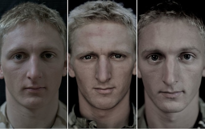 14 Soldiers Photographed Before, During And After They Went To War: The Result Is Shocking