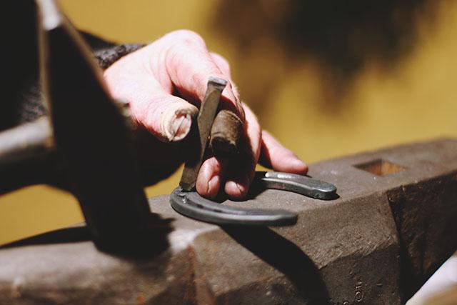 Horseshoe hammer