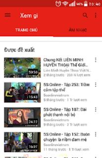 Tải Youtube - Phần mềm xem video trực tuyến MIỄN PHÍ trên điện thoại 4