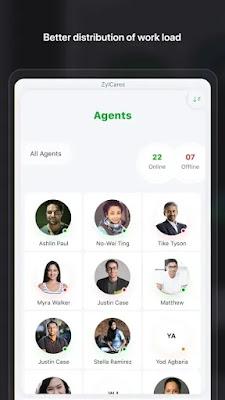 Screenshot Radar Zoho Desk - Apcoid