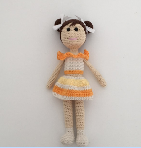 Amigurumi Tini Mini Kız Yapılışı-Free Pattern Tini Mini Dolls ... | 501x476