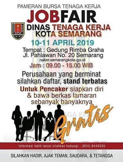 Job Fair DISNAKER Kota Semarang