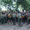 Kobarkan Semangat Lomba Yel-Yel Antar  Satuan di Apresiasi Pangdam Hasanuddin