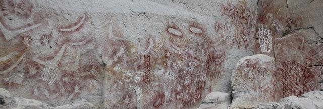 Aboriginal stencil art, Carnarvon Gorge National Park, Australia