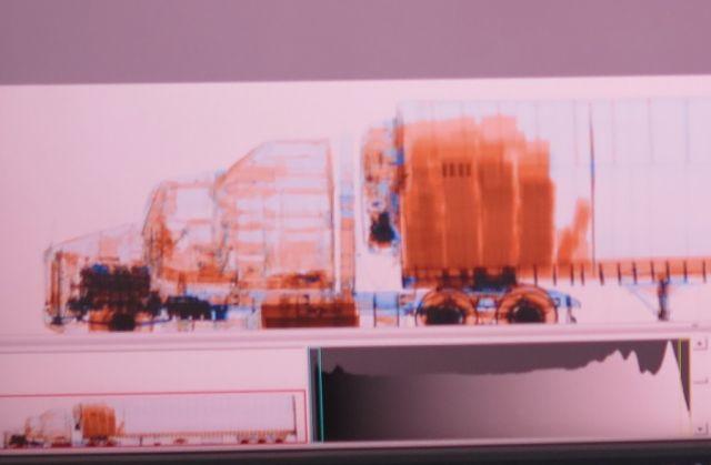 camión escáner instituciona