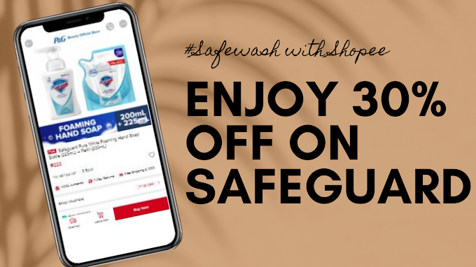 Get up to 30% off on Safeguard products on October 11-13 for #Safewash against germs