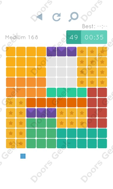 Cheats, Walkthrough for Blocks and Shapes Medium Level 168