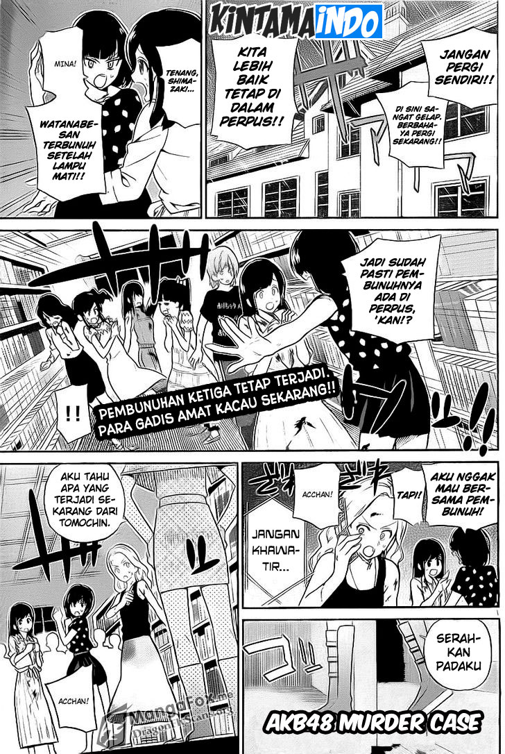Baca Komik AKB48 Murder Case Chapter 8 Page 2 Kintamaindo