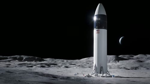 NASA chooses SpaceX to build a lunar probe