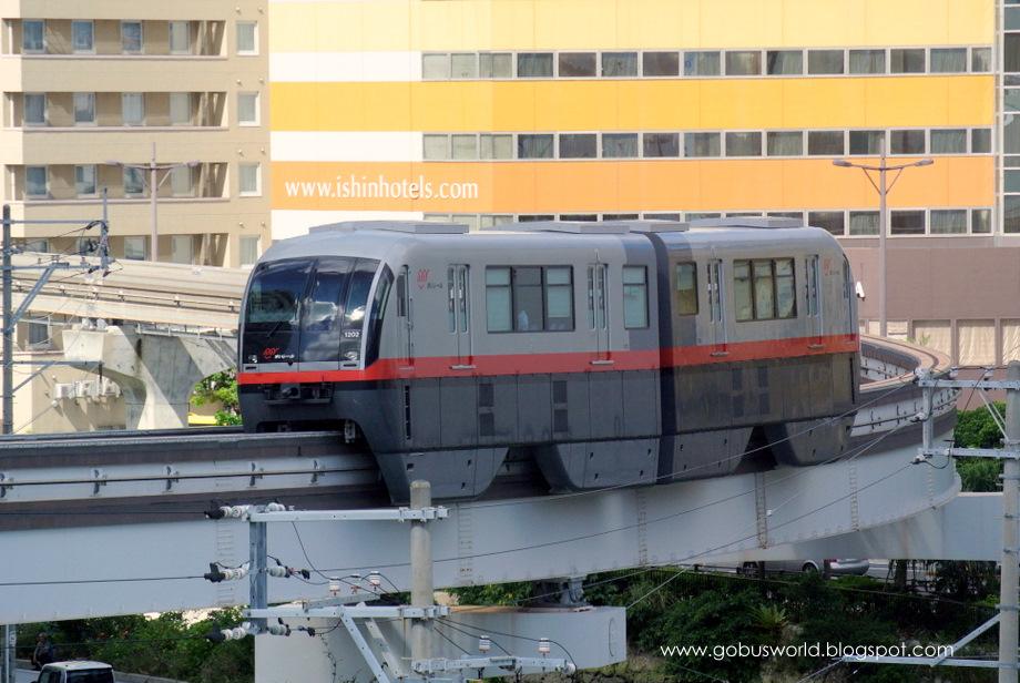 Go Bus's World: [高架旅途]-沖繩都市單軌電車-那霸單軌-沖繩單軌