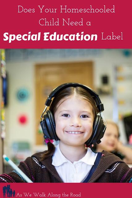 Homeschool special education