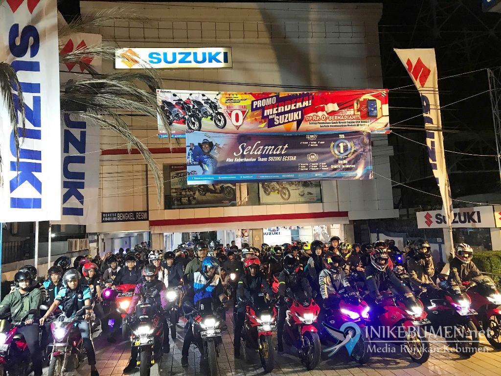 Safety Riding dan Berwisata Kuliner Bareng Bikers Suzuki Banjarmasin