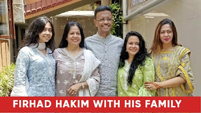 Firhad hakim with his family images