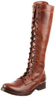 FRYE Women's brown leather boots