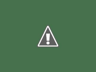 Photographie de la Lune avant le coucher de soleil