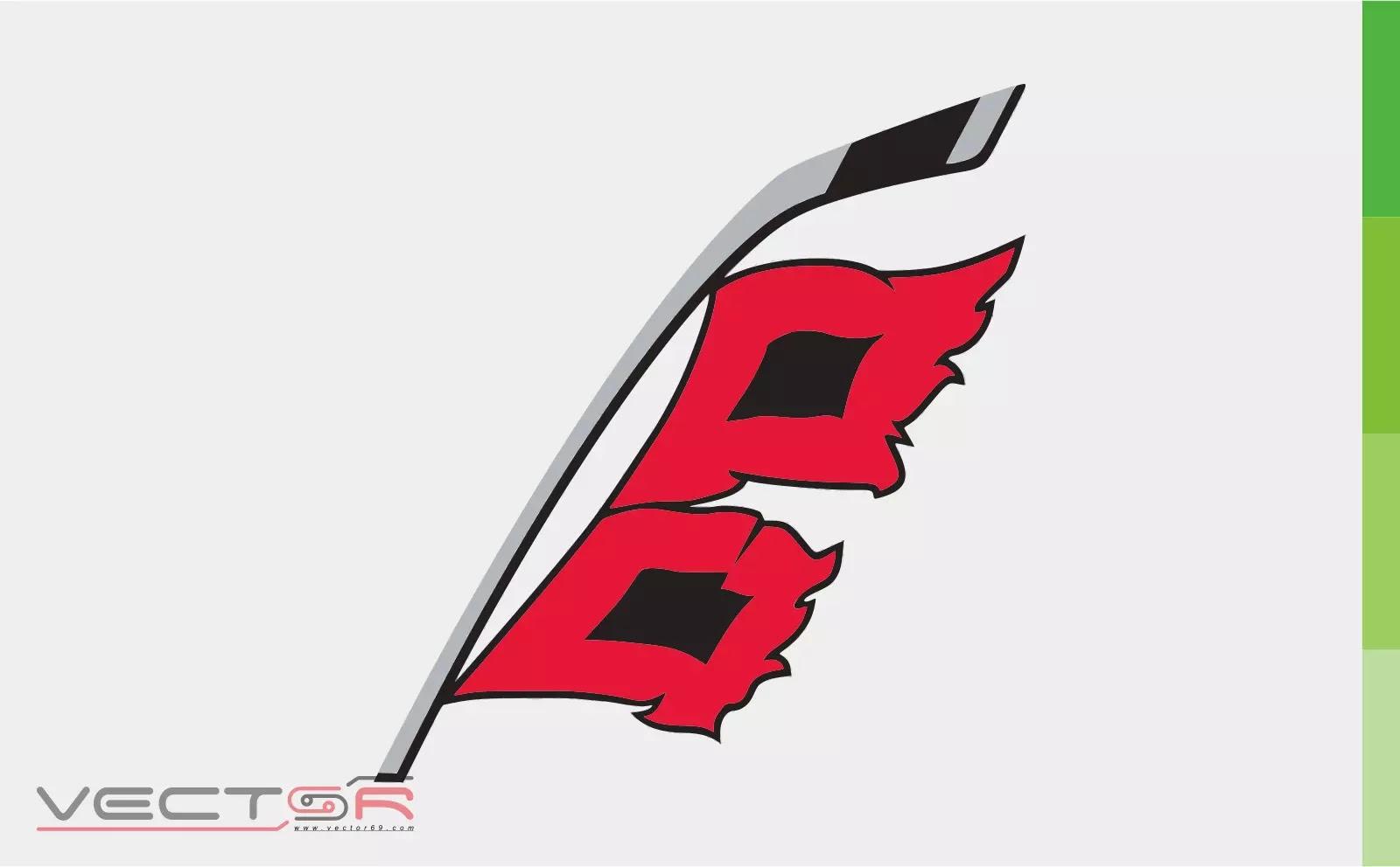 Carolina Hurricanes (2018) Secondary Logo - Download Vector File CDR (CorelDraw)