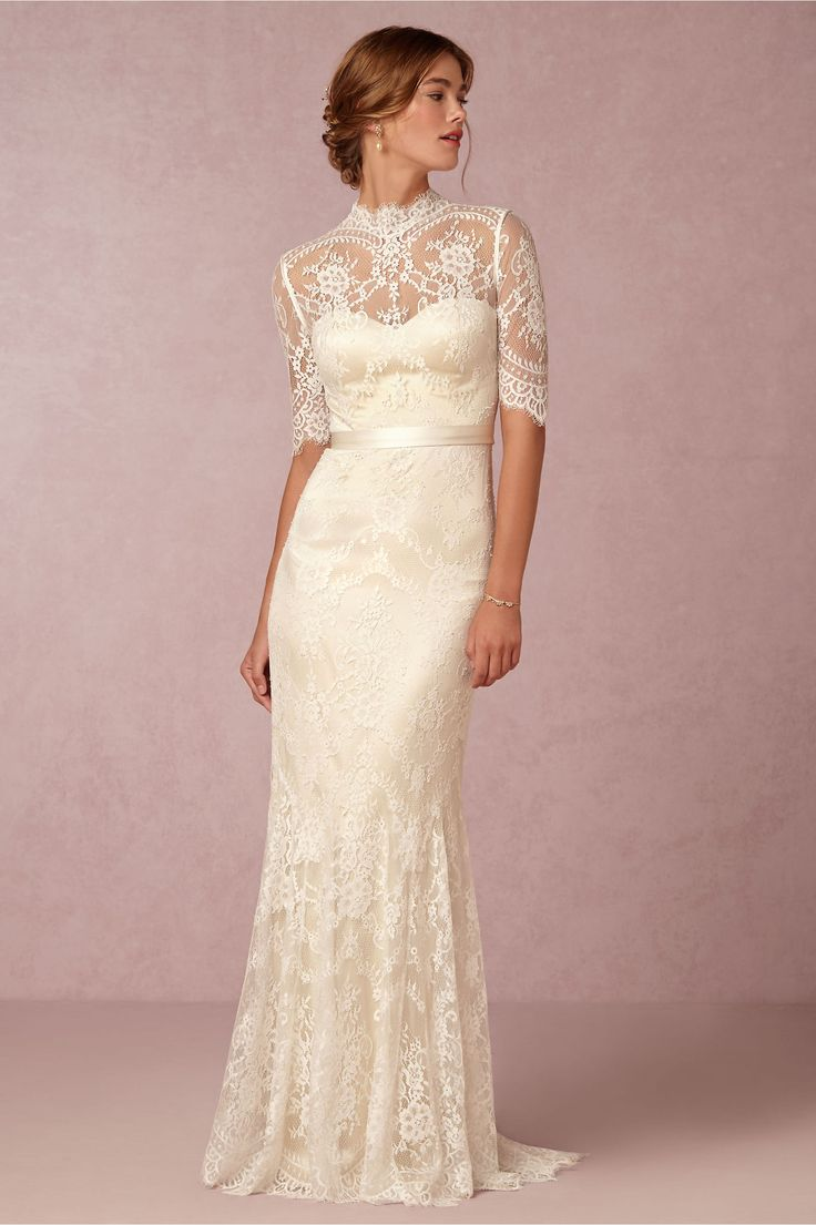 second marriage wedding dress for mature bride
