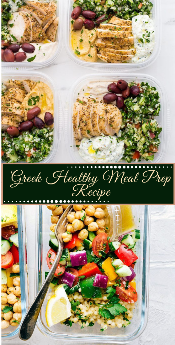 Greek Healthy Meal Prep Recipe #healthyfood #dietketo #breakfast #breakfast