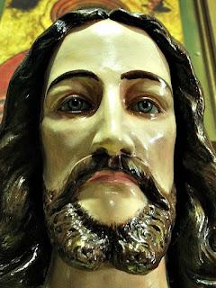 Imagem de Jesus Cristo na Basílica da Medianeira, Santa Maria (RS)