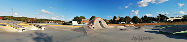 Skatepark Chateauroux panoramique