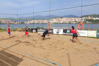 """Ξεκινά σήμερα στην Καστοριά, με τη στήριξη του Δήμου Καστοριάς,  το """"Πανελλήνιο Αναπτυξιακό Τουρνουά Beach Volley"""""""