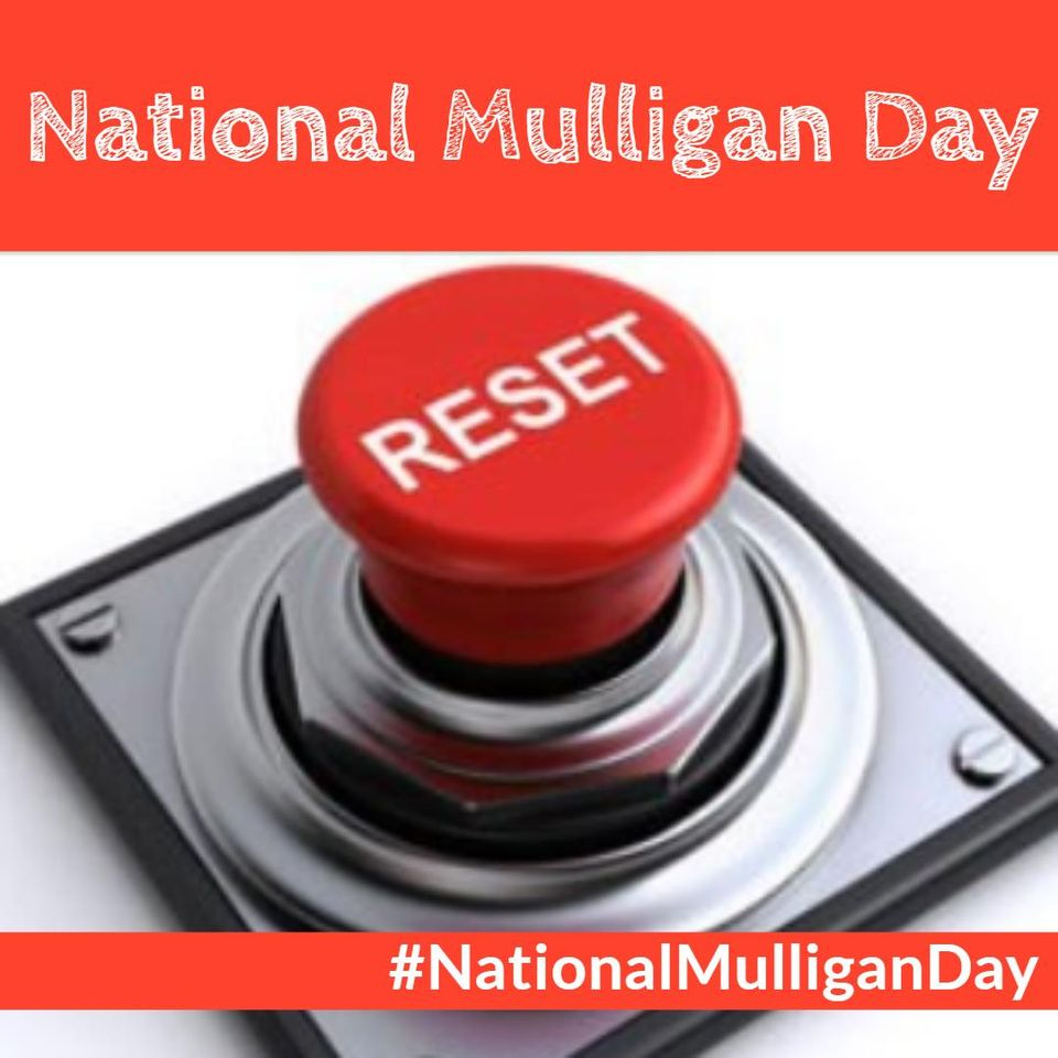National Mulligan Day Wishes Beautiful Image