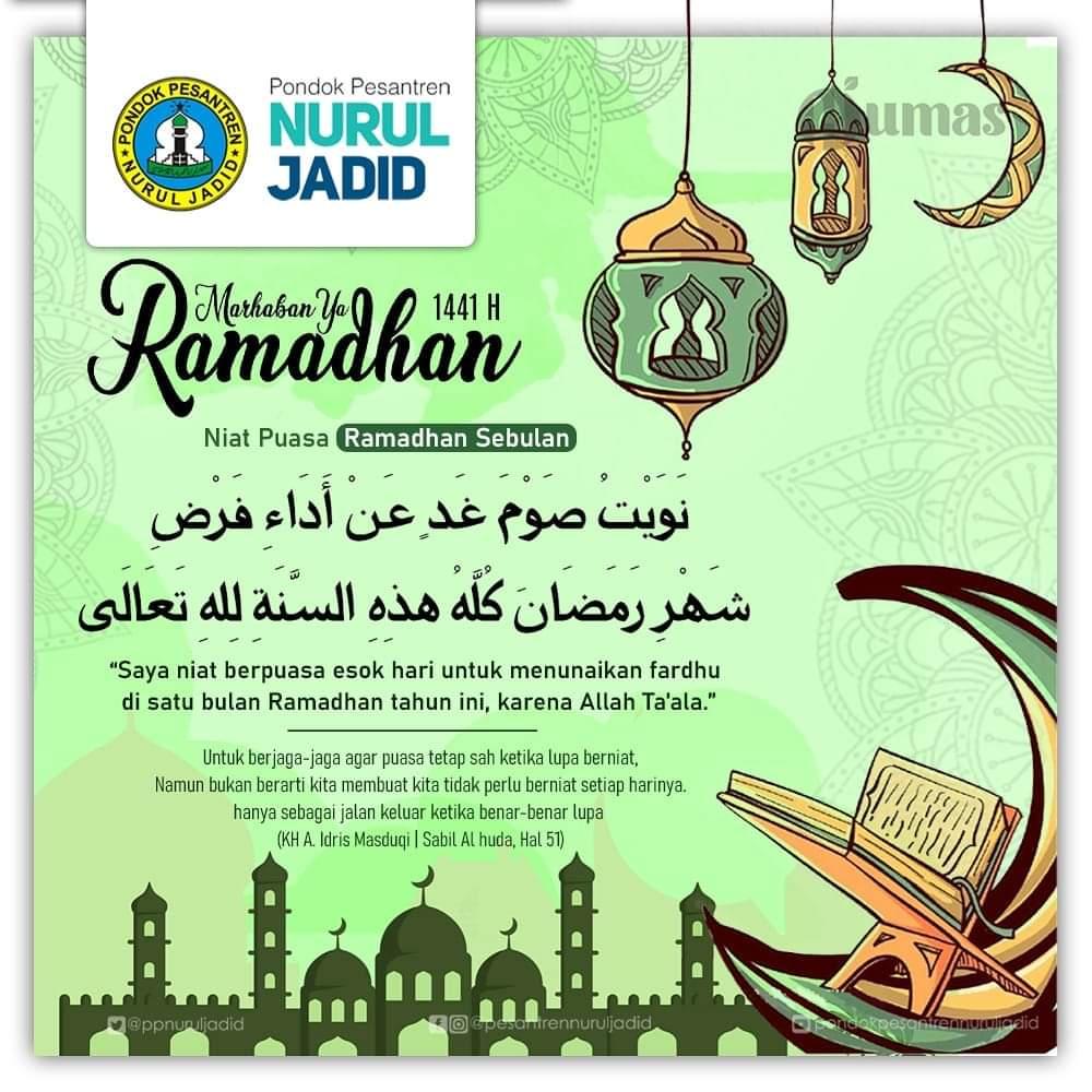 Niat Puasa Ramadan Setiap Hari Dan Sebulan Penuh