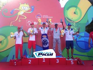 Atleta Márcio Leão vence corrida em Minas Gerais