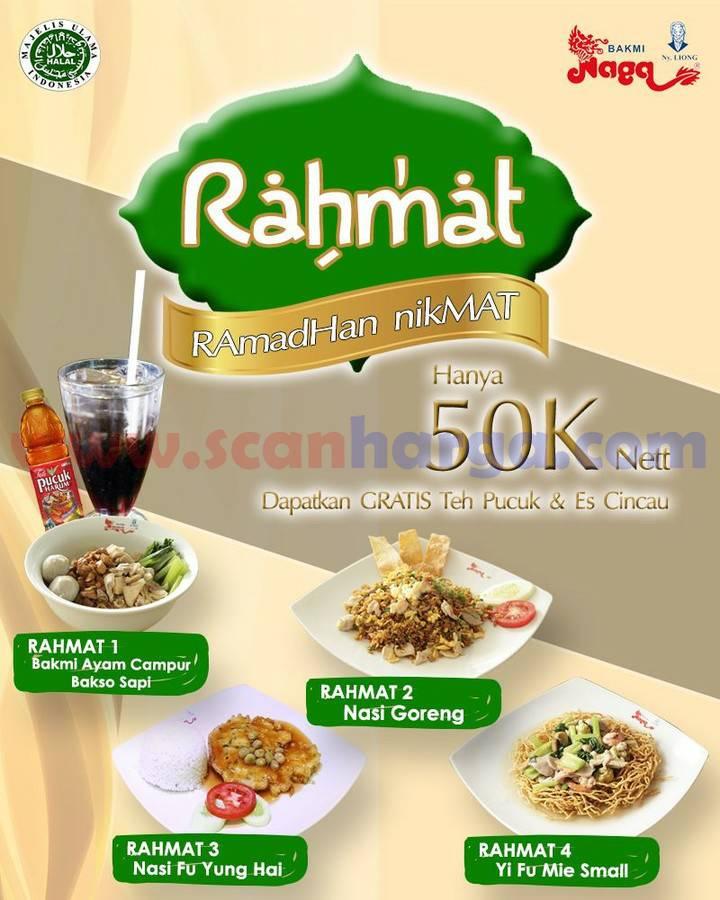 BAKMI NAGA Promo Paket Ramadan Nikmat - harga cuma 50K Nett
