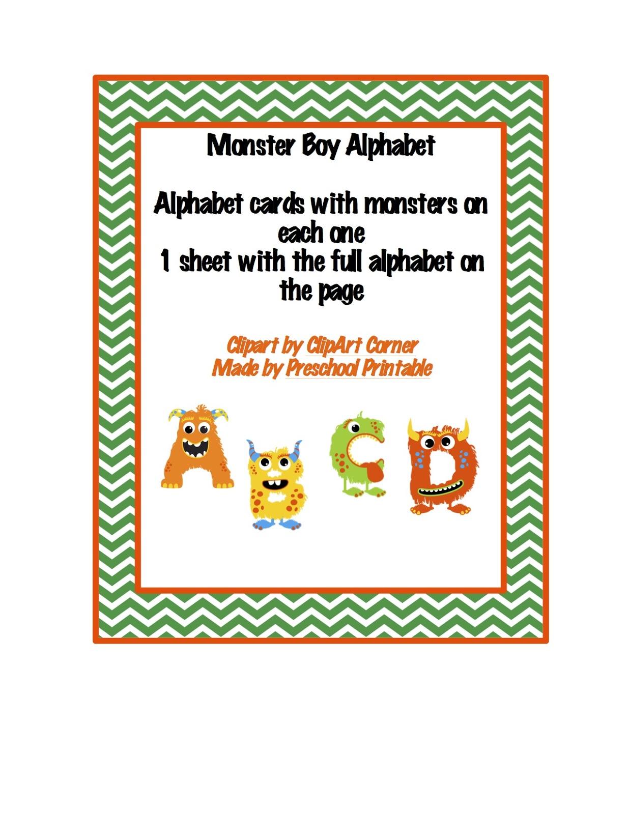February Preschool Printables