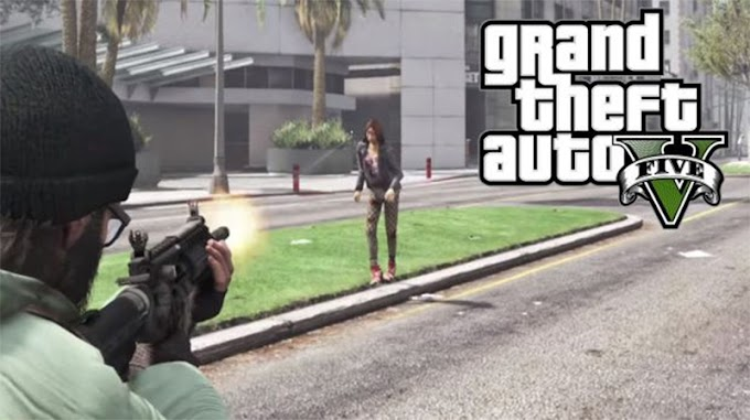 GTA 5 turns into The Walking Dead with spooky zombie apocalypse mod