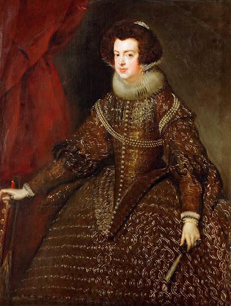 Диего Веласкес - Портрет Изабеллы де Бурбон, королевы Испании и Португалии (1632)
