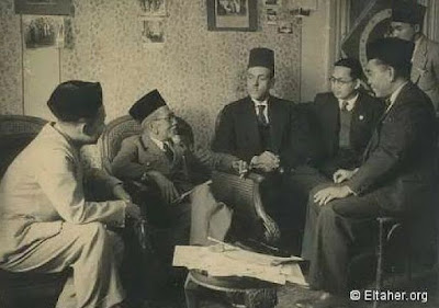 KH. Agus Salim Bersama Para Diplomat