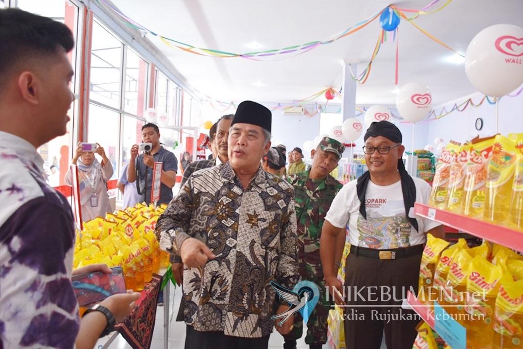 Badan Usaha Milik Desa Kaligending Karangsambung Buka Usaha Minimarket