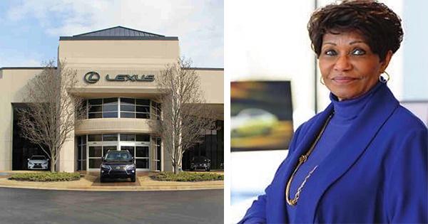 Ellenae Fairhurst, owner of the first Black woman-owned Lexus dealership