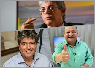 Ricardo, Ruy e Nilvan lideram disputa pela prefeitura de JP em 2020, diz Método