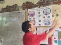 Kesedihan Abdul Rahman Bando saat tinjau Sekolah di Tengah Kota, Ada Apa ??