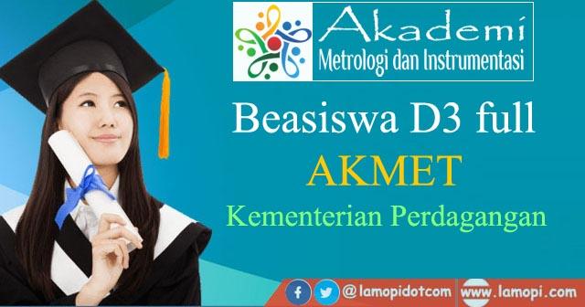 Pendaftaran Beasiswa AKMET
